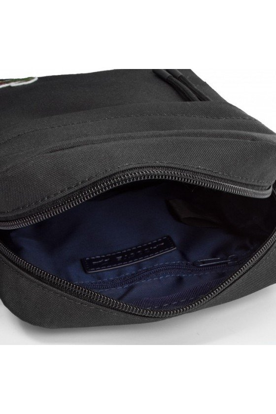 S FLAT CROSSOVER BAG Lacoste - 991 Negro