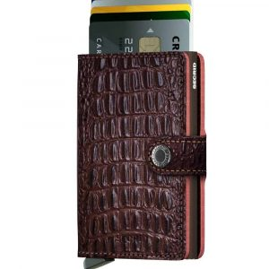 Secrid Miniwallet NILE Brown - BROWN