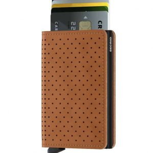 Secrid Slimwallet PERFORATE Cognac