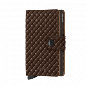 Secrid Miniwallet PERFORATE Cognac