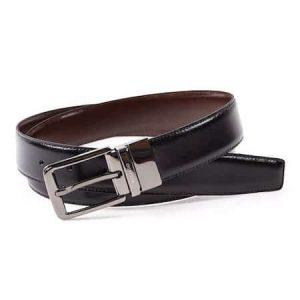 Cinturón Clásico Reversible MIGUEL BELLIDO - Negro/Marrón Reversible, 90