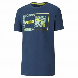 Camiseta PUMA Alpha Graphic Tee B